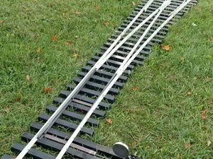 "Switch Kits and parts for 7.5"" and 7.25"" gauge track"