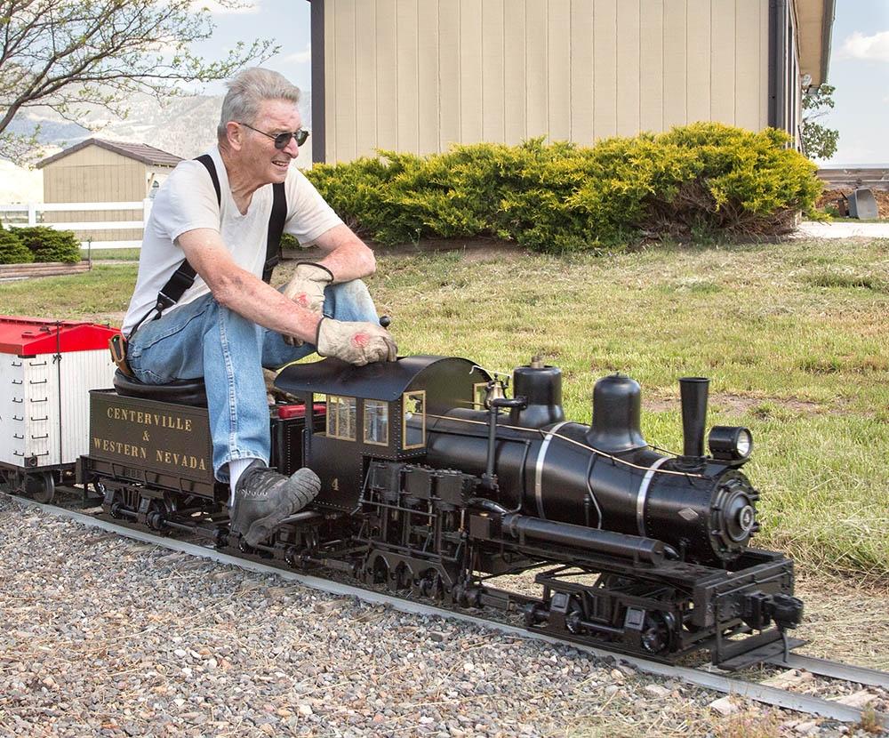 Schroeder Shay Locomotive
